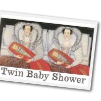 Twin baby shower printable invitations - free printable invites