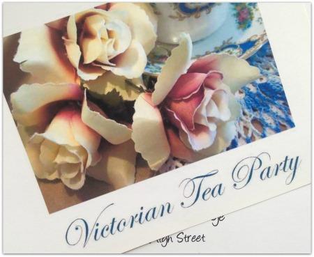 Printable Victorian Tea Party Invitation