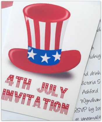 4th of July Invitations - Printable Invites