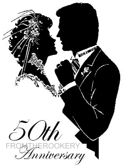 50th Anniversary Invitation - Free Printable Card