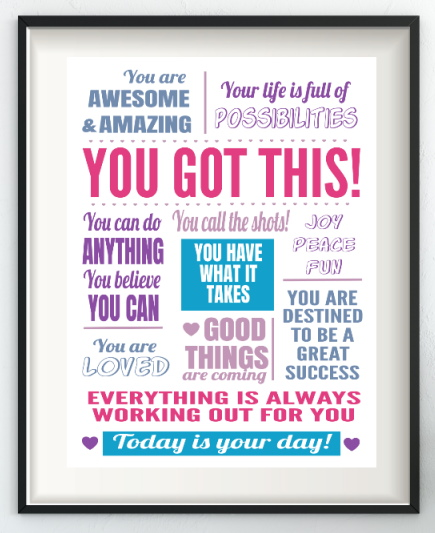 you got this inspirational poster