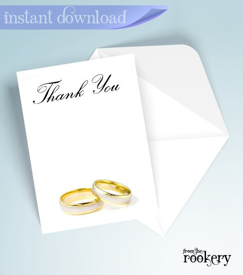 Anniversary Thank You Cards