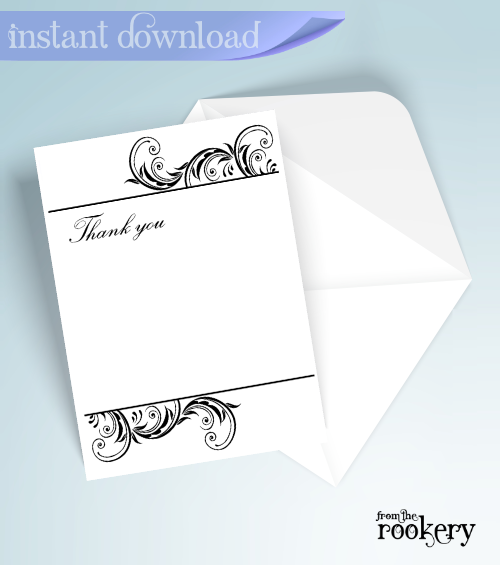 Wedding Anniversary Thank You Cards