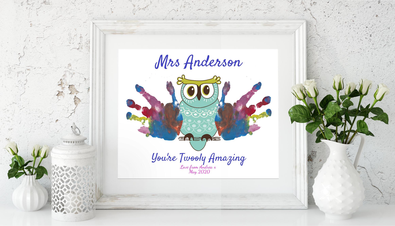 Teacher Appreciation Owl Gift