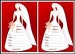 Free Blank Bridal Shower Invites Thumbnail