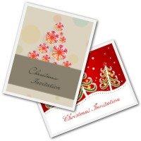 Christmas Invitation Cards - Free Printable Invites