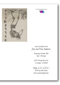 Personalized Halloween Invitations - Skeleton