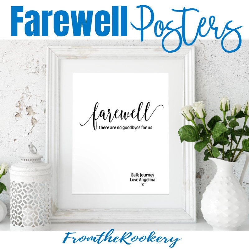 Farewell Goodbye Poster