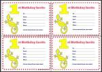 First Birthday Invitations thumbnail