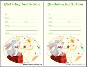 Free Birthday Party Invites