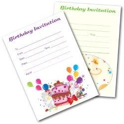 Free Birthday Invitations for Kids - Printable Invites