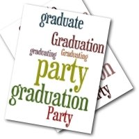 Graduation Party Invite Cards