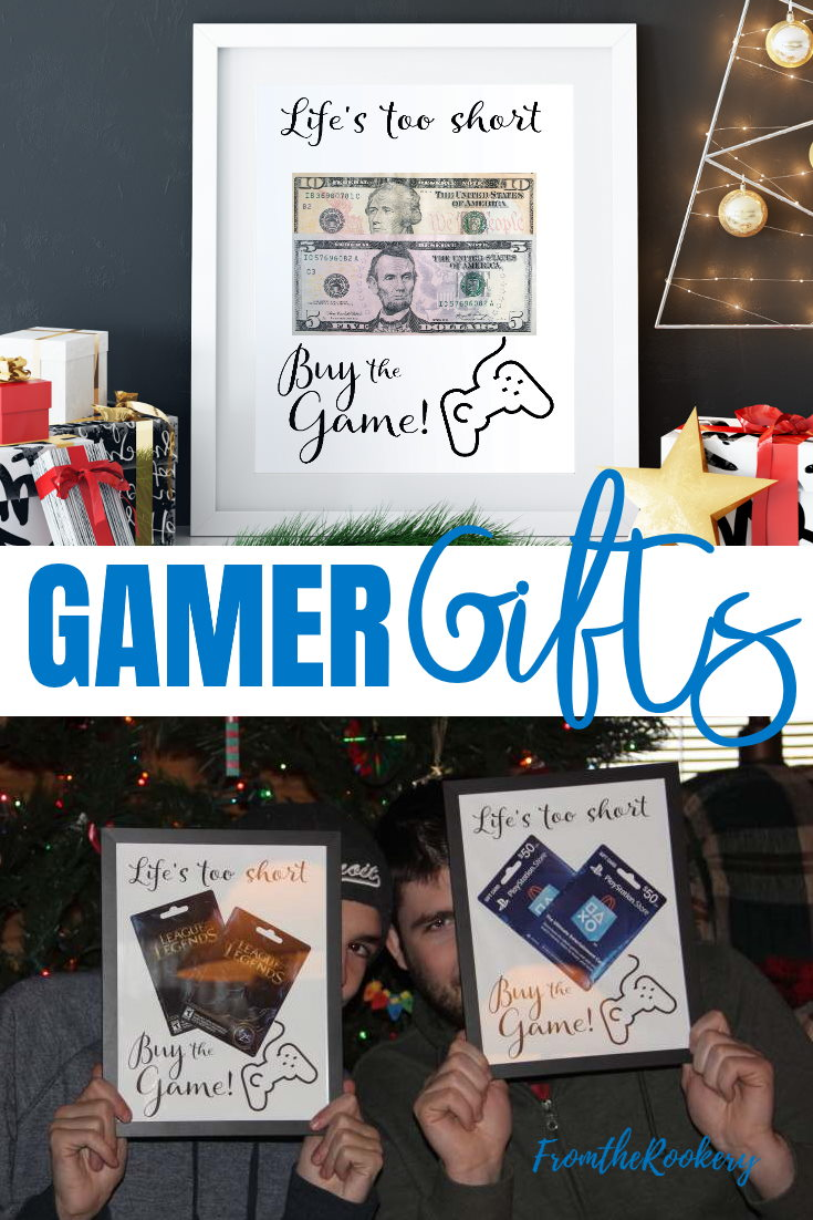Gamer Gifts - Ideas for gifting game fans.