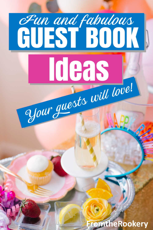 Alternative Guest Book Ideas