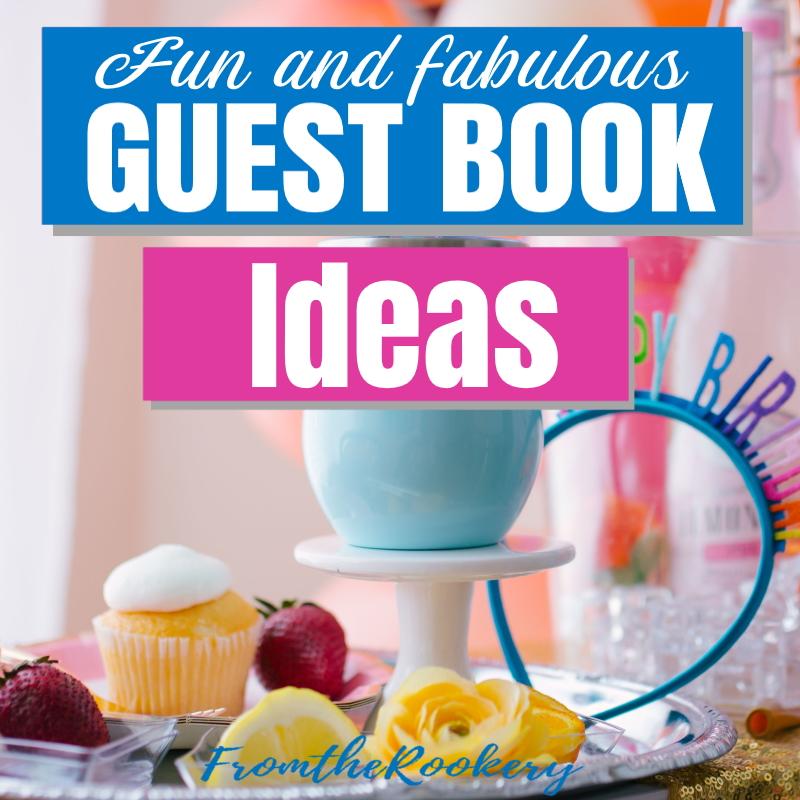 Fun guest book ideas