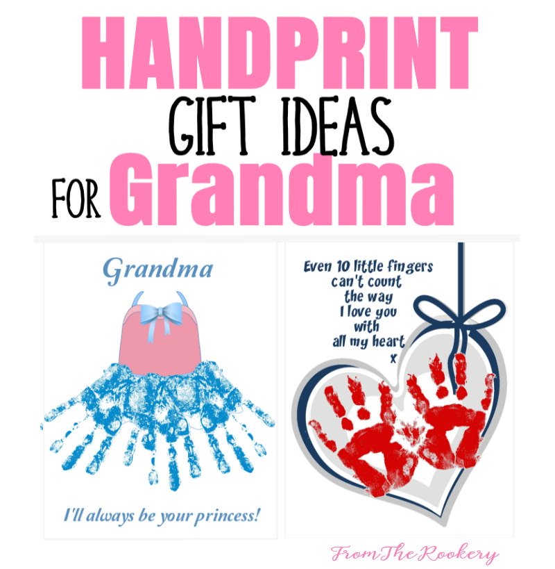 handprint art for grandma