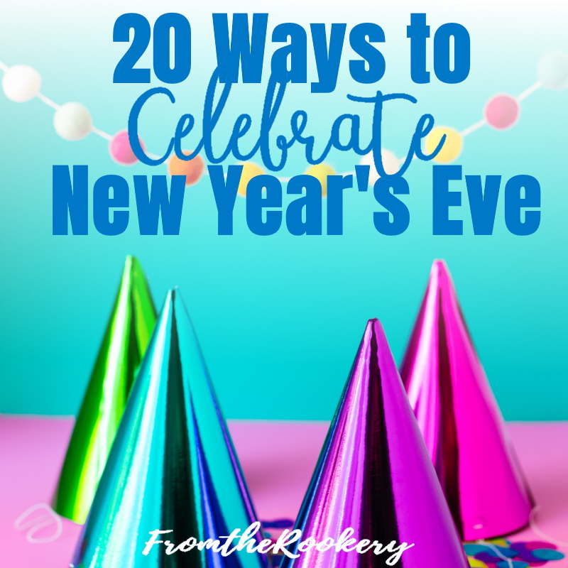 20 Ways to celebrate New Year's Eve