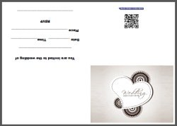 Indian Wedding Invite Card