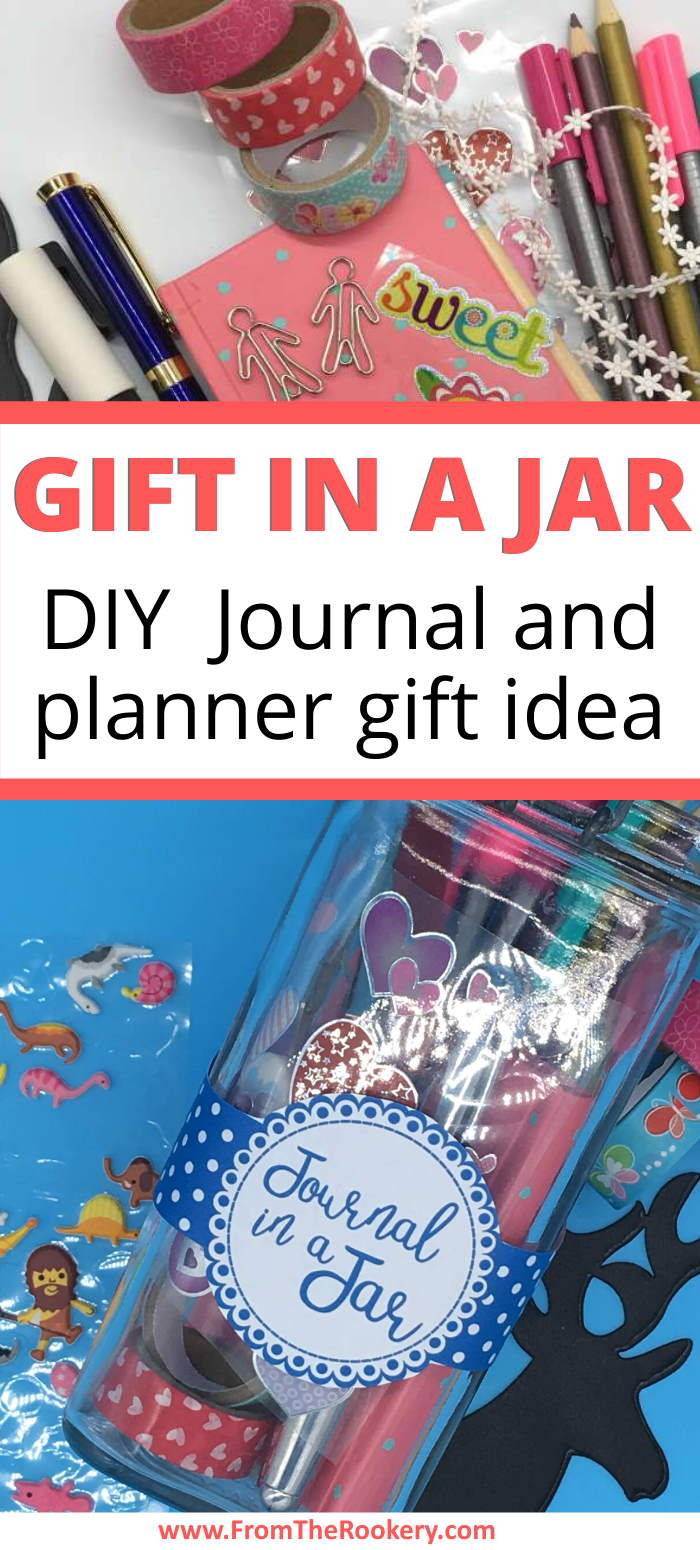 Gift in a Jar - Journal