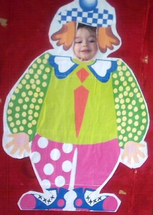 Clown theme party photo shoot