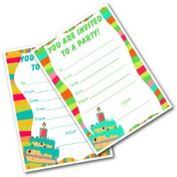 Printable Party Invites for Kids