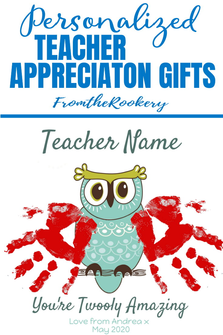 Personalized Teacher Gift Ideas