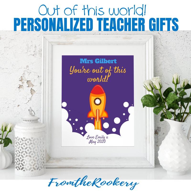 Personalized teacher appreciation gift ideas