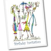 Free Printable Birthday Invitation Card
