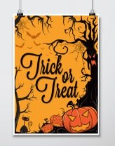 Printable Halloween Posters Decoration