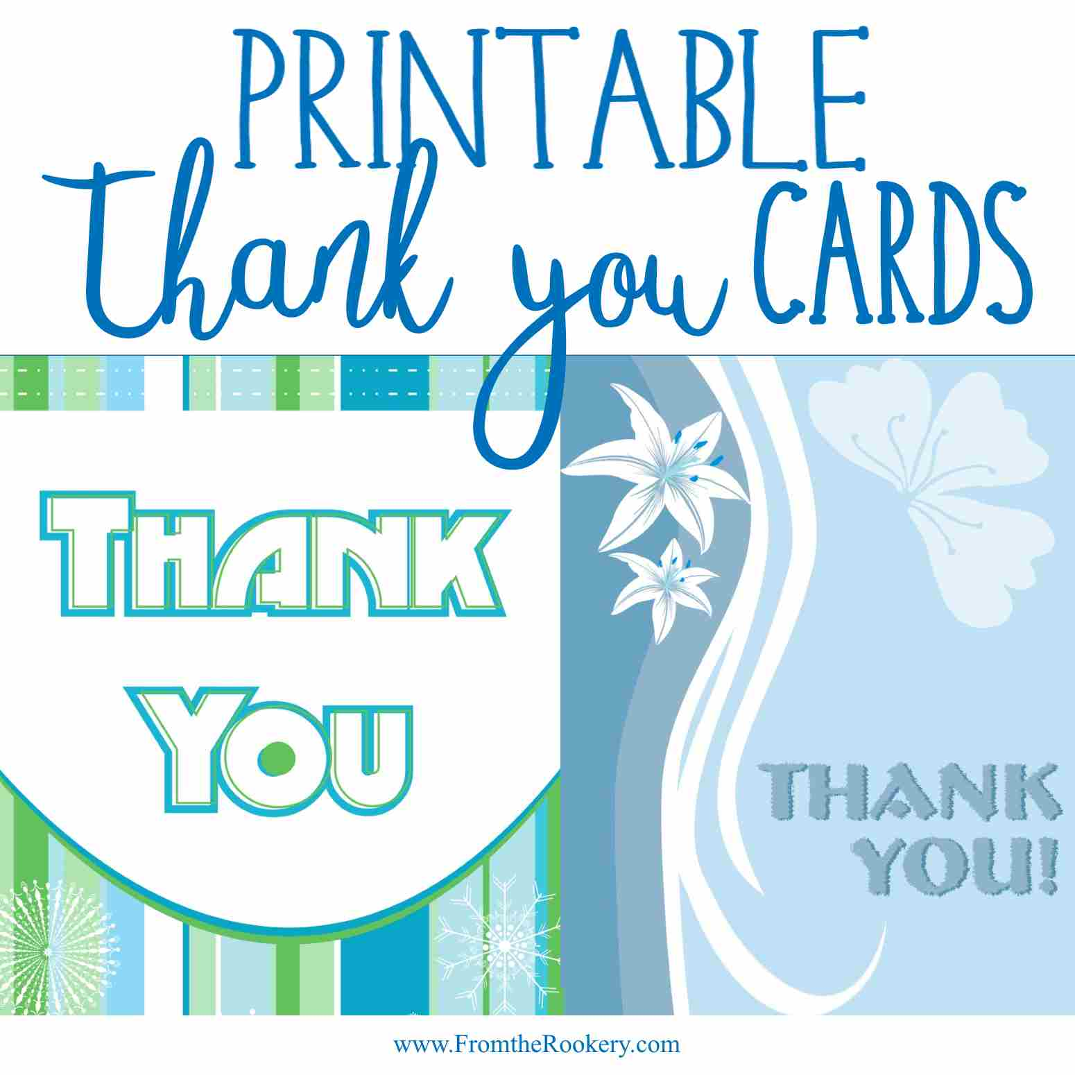 Thank You Greeting Cards Free