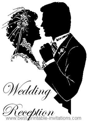 Wedding Reception Party Invitations - Free Printable